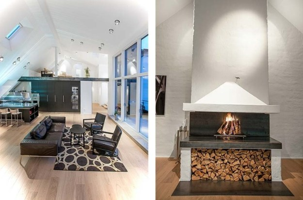 Attic Penthouse in Stockholm 05