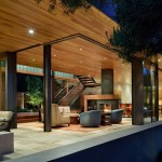 Courtyard House by DeForest Architects.