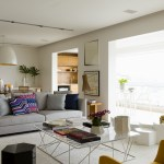 Panamby Apartment by Diego Revollo