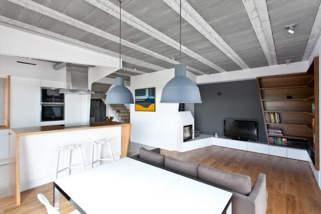 Beam&Block House by modelina 01