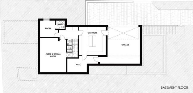 White cube house by ARX Architect Studio Hungary 15