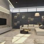 Contemporary private villa interior by Shamsudin Kerimov