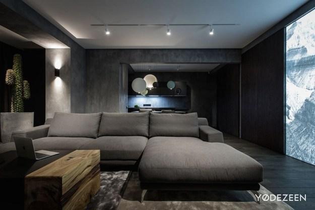 Modern home interior by YoDezeen 02