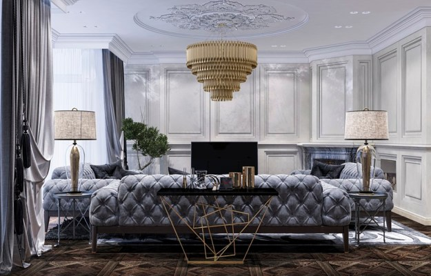 Luxury design in the neoclassical style by Building Evolution 01