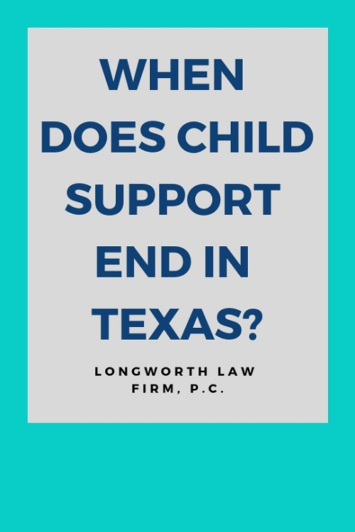 Child Support Laws for Texas College Students