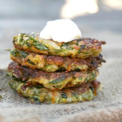 Mexi Zucchini Fritters + 20 More Nourishing Zucchini Recipes
