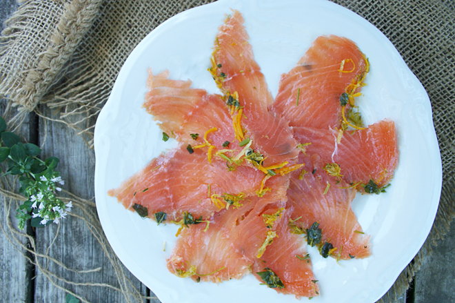 A Tutorial: Home Cured Gravlax | myhumblekitchen.com
