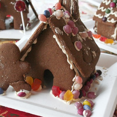 Naturally Sweetened Gingerbread for Cookies or Houses