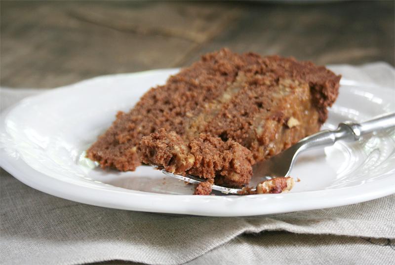 A Naturally Sweetened Version of the Best German Chocolate Cake Recipe Ever! | myhumblekitchen.com