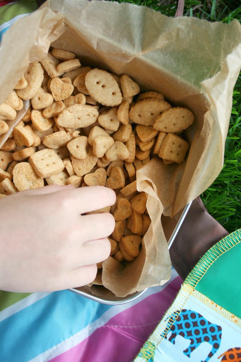 Easy, Whole Wheat Einkorn Cheddar Crackers | myhumblekitchen.com