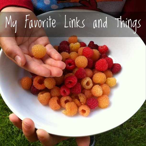 My Favorite Links and Things