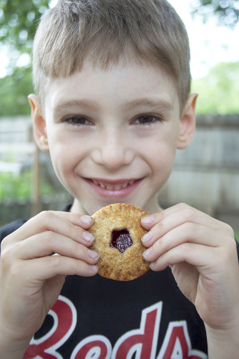 Sweet and Simple Cherry Hand Pies - Summer Treats for Little Hands | myhumblekitchen.com