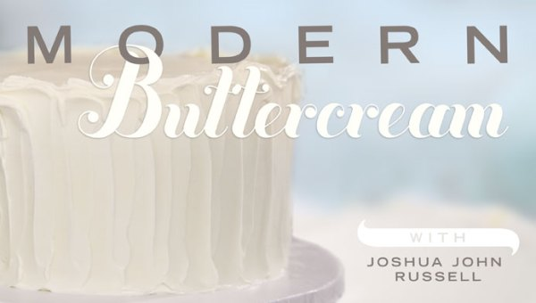 Modern Buttercream and How To Build a Tiered Cake | myhumblekitchen.com