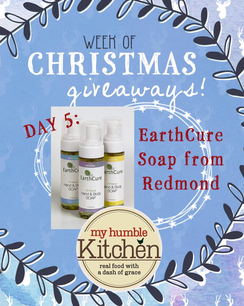 My Humble Kitchen's Week of Christmas Giveaways: Day 5 - Redmond | myhumblekitchen.com