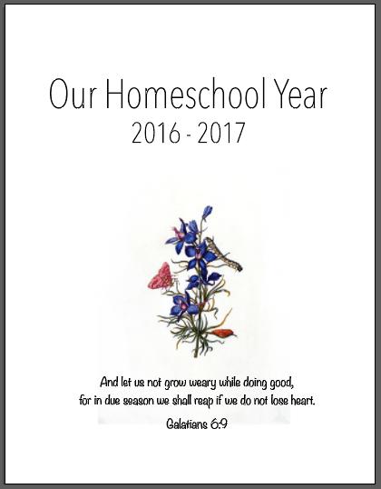 A Free Charlotte Mason Homeschool Planner