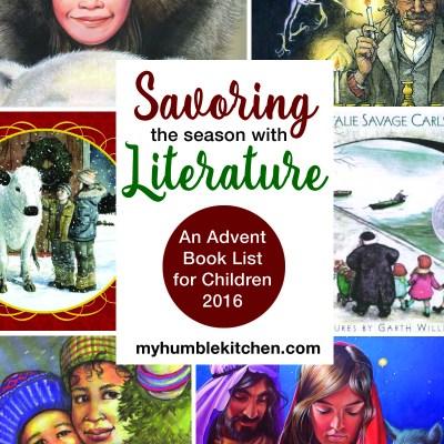 An Advent Book List for Children - 2016