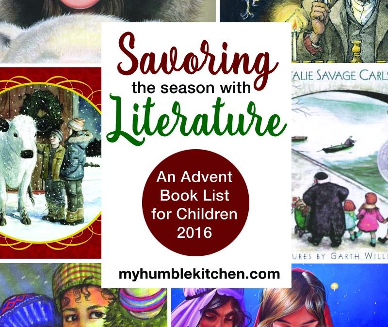 An Advent Book List for Children – 2016