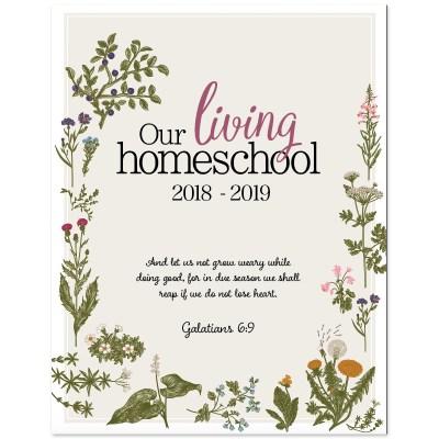 A Charlotte Mason Homeschool Planner, 2018-2019