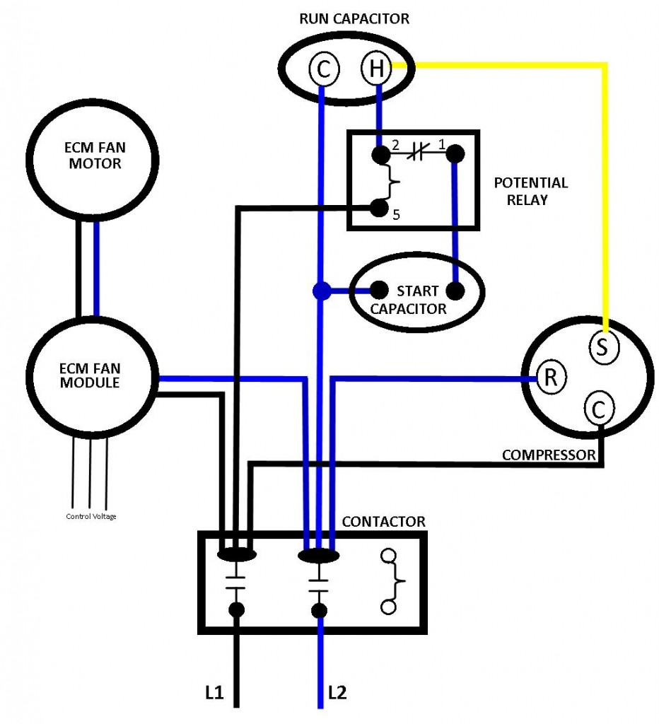 ac relay wiring diagram ac power relay  u2022 mifinder co