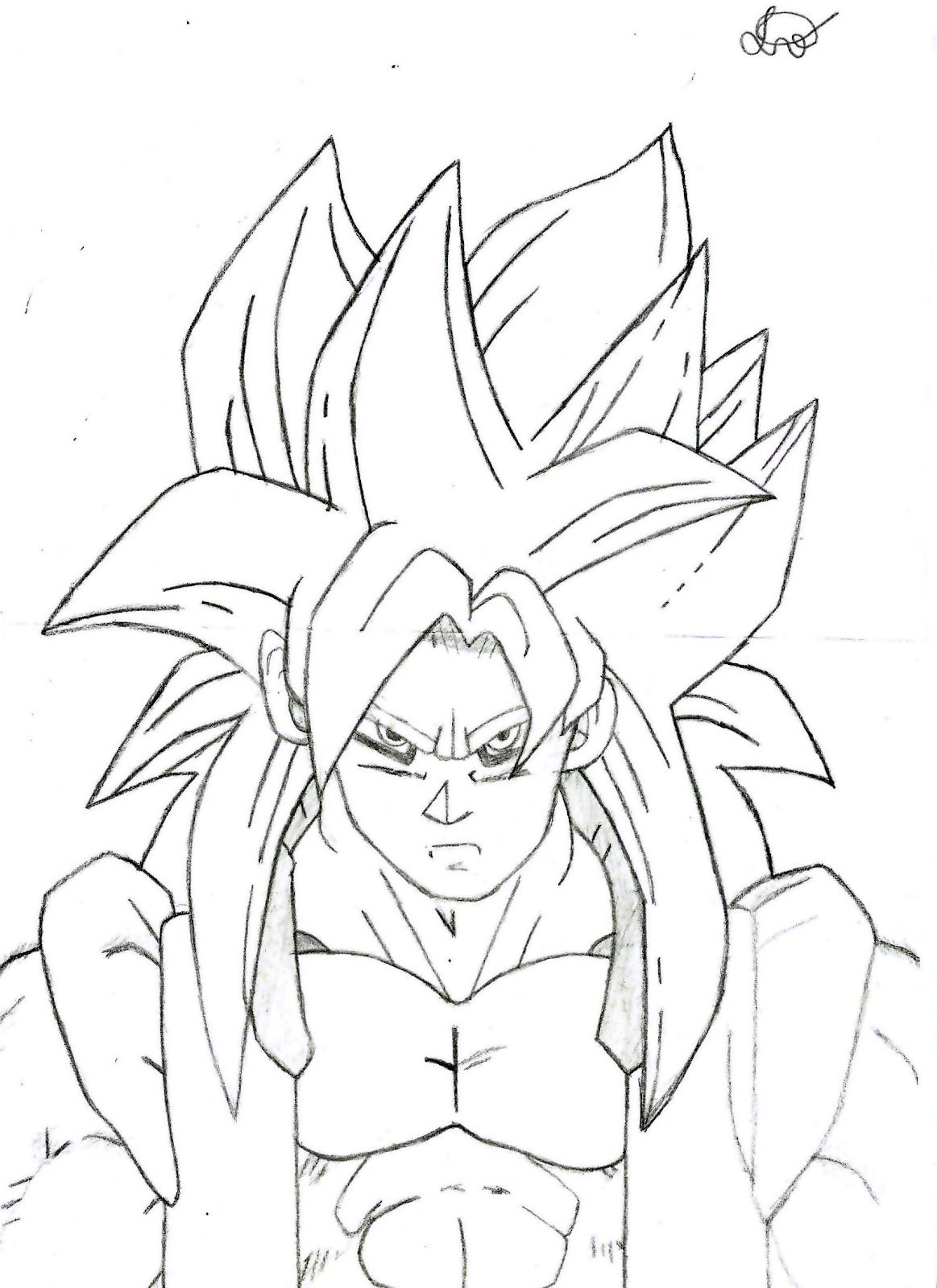Top Fotos Do Goku Para Desenhar Xw82