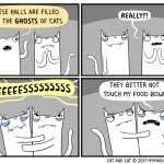 cat comic ghost