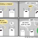 cat comic monday