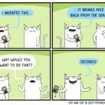 cat comic. invention