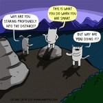 cat comic profound