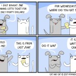 cat comic lottery