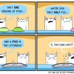 cat comic lives