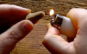 how to light your incense