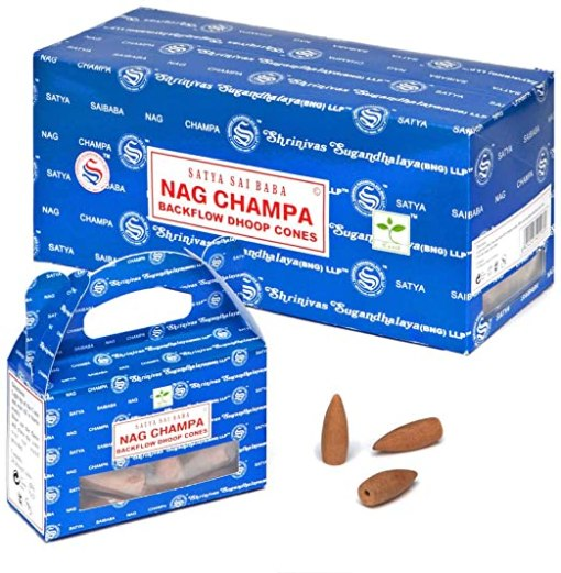 Satya Backflow Dhoop Backflow Incense Cones