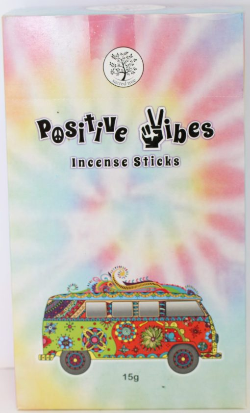 Positive Vibes Incense Box of 12