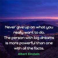 The Quotable Albert Einstein: On Dreams