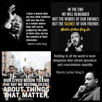 Quotations from Martin Luther King