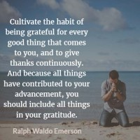 Ralph Waldo Emerson: On Gratitude