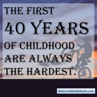 The First 40 Years of Childhood Meme
