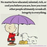 How You Treat Others Ultimately Reveals All