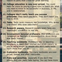 26 Reasons Why You Should Not Go to College