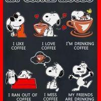 Snoopy: My Coffee Moods