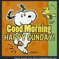 Happy Sunday from Snoopy!