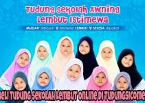 Beli Tudung Sekolah Lembut Online di TudungSiComel