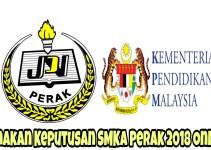 Semakan Keputusan SMKA Perak 2018 Online