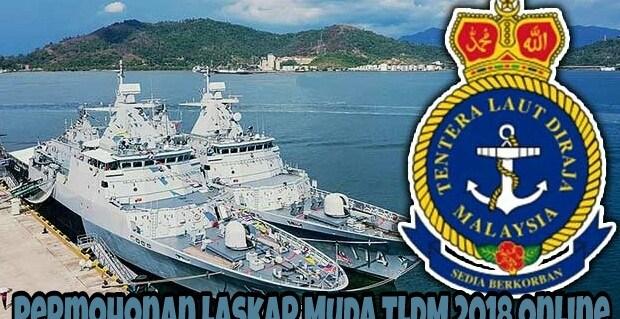 Permohonan Laskar Muda TLDM 2018 Online