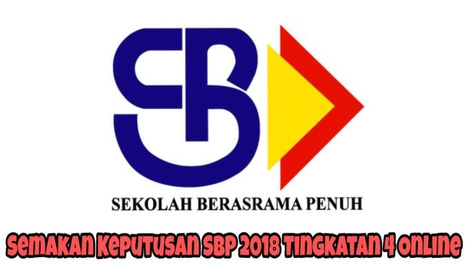 Semakan Keputusan SBP 2019 Tingkatan 4 Online