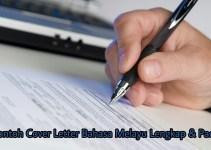 Contoh Cover Letter Bahasa Melayu Lengkap & Padat