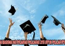 Senarai Biasiswa dan Pinjaman Pelajaran 2018 Untuk Pelajar IPTA/ IPTS