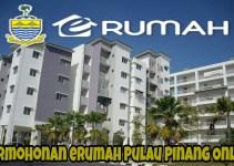 Permohonan eRumah Pulau Pinang Rumah Mampu Milik & PPR Online