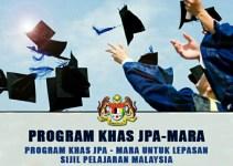 Permohonan Biasiswa MARA 2018 Program Khas JPA MARA (PKJM) Online