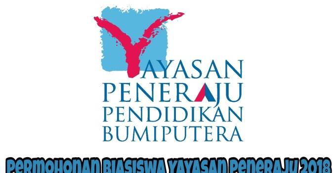 Permohonan Biasiswa Yayasan Peneraju 2018